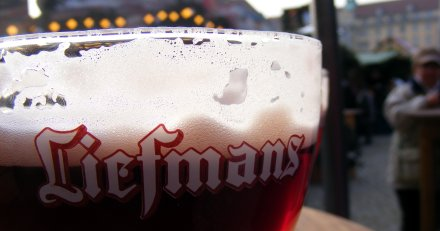 Liefmann's gluhbier at the Christmas market in Dresden