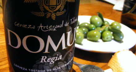 Domus 'artesanal' beer from Toledo
